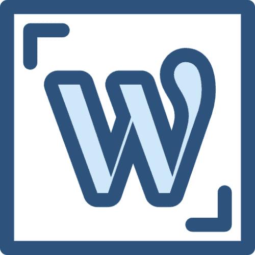WordPress & DSGVO WordPress Icon